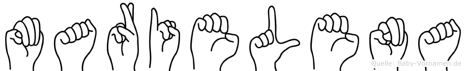 Marielena in Fingersprache für Gehörlose