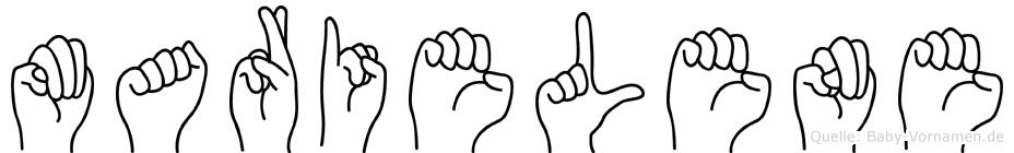 Marielene in Fingersprache für Gehörlose