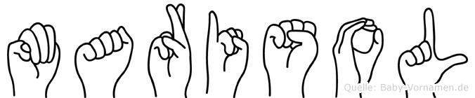 Marisol in Fingersprache für Gehörlose
