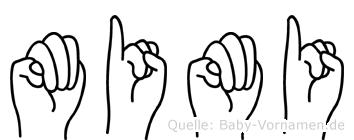 Mimi in Fingersprache für Gehörlose