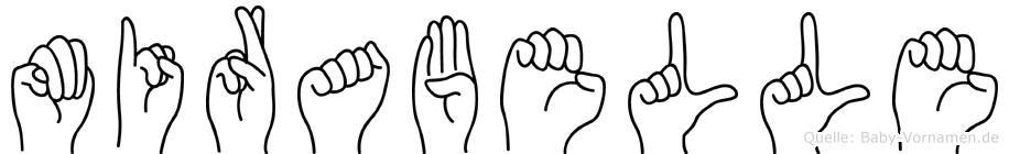 Mirabelle in Fingersprache für Gehörlose