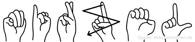 Mirzel in Fingersprache für Gehörlose