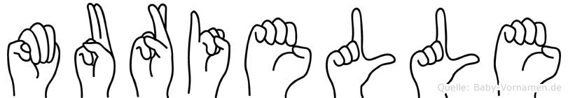 Murielle in Fingersprache für Gehörlose