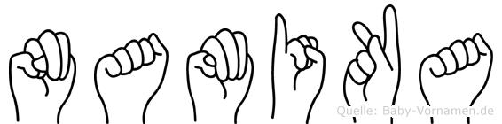 Namika in Fingersprache für Gehörlose