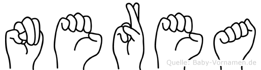 Nerea in Fingersprache für Gehörlose