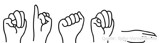 Niamh in Fingersprache für Gehörlose