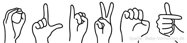 Olivet in Fingersprache für Gehörlose