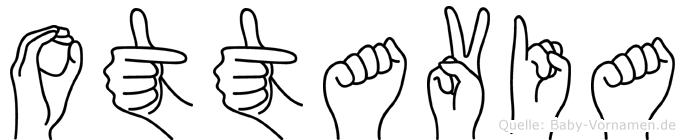 Ottavia im Fingeralphabet der Deutschen Gebärdensprache