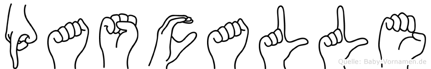 Pascalle in Fingersprache für Gehörlose