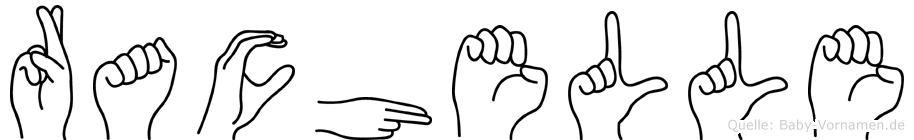 Rachelle in Fingersprache für Gehörlose