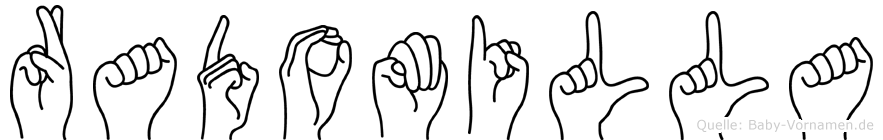 Radomilla in Fingersprache für Gehörlose