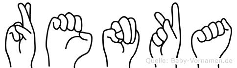 Renka in Fingersprache für Gehörlose