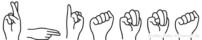 Rhianna in Fingersprache f�r Geh�rlose