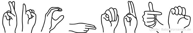 Richmute in Fingersprache für Gehörlose