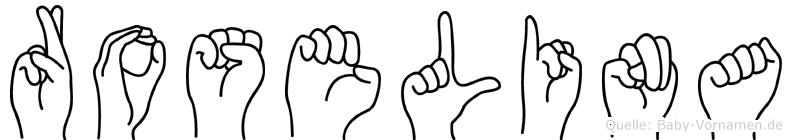 Roselina in Fingersprache für Gehörlose