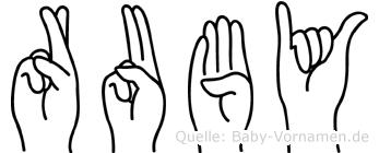 Ruby in Fingersprache für Gehörlose