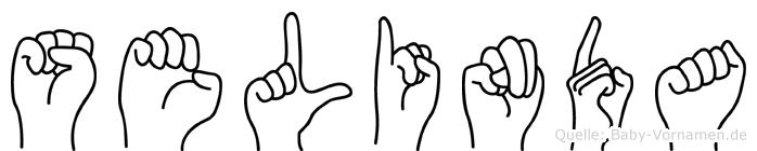 Selinda in Fingersprache für Gehörlose