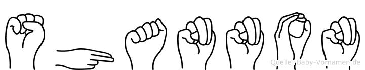 Shannon in Fingersprache für Gehörlose