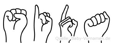 Sida in Fingersprache für Gehörlose