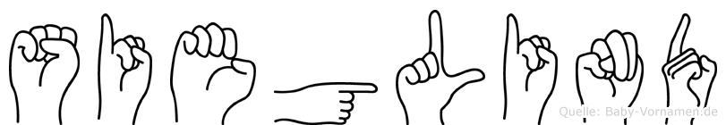 Sieglind im Fingeralphabet der Deutschen Gebärdensprache