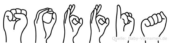 Soffia in Fingersprache für Gehörlose