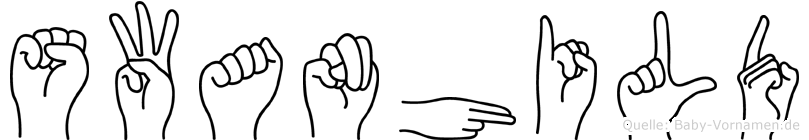 Swanhild in Fingersprache für Gehörlose