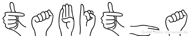 Tabitha in Fingersprache für Gehörlose