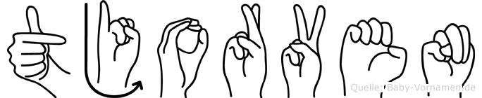 Tjorven in Fingersprache für Gehörlose