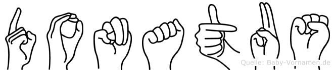 Donatus in Fingersprache für Gehörlose