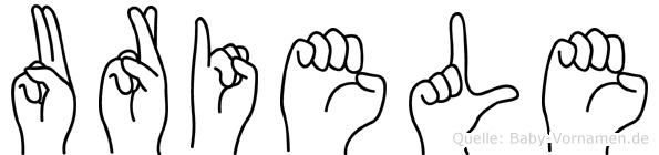 Uriele in Fingersprache für Gehörlose