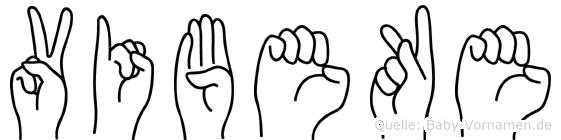 Vibeke in Fingersprache für Gehörlose