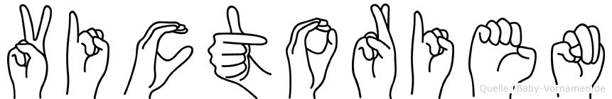 Victorien in Fingersprache für Gehörlose