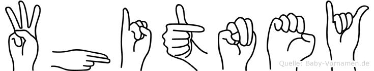 Whitney in Fingersprache für Gehörlose