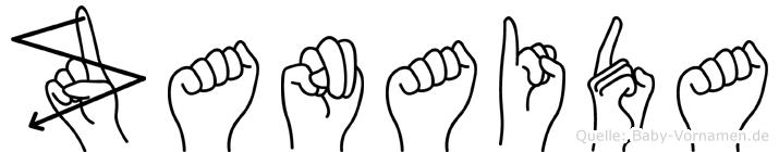 Zanaida in Fingersprache f�r Geh�rlose