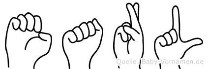 Earl in Fingersprache für Gehörlose