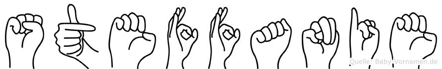 Steffanie in Fingersprache für Gehörlose