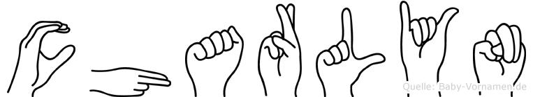 Charlyn in Fingersprache für Gehörlose