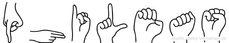 Phileas in Fingersprache für Gehörlose