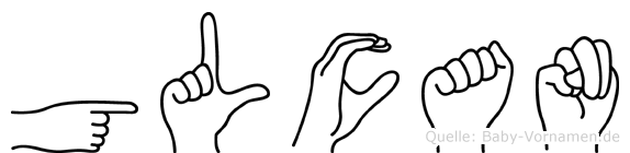 Gülcan in Fingersprache für Gehörlose