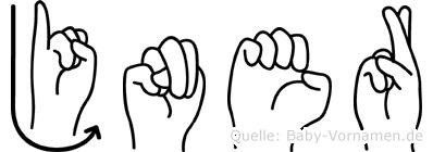 Jöner in Fingersprache für Gehörlose