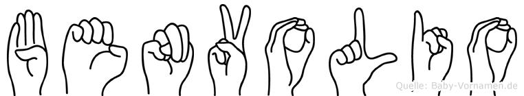 Benvolio in Fingersprache für Gehörlose