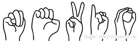 Nevio in Fingersprache für Gehörlose