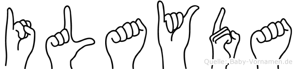 Ilayda in Fingersprache für Gehörlose