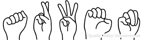 Arwen in Fingersprache für Gehörlose