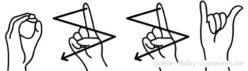 Ozzy in Fingersprache für Gehörlose