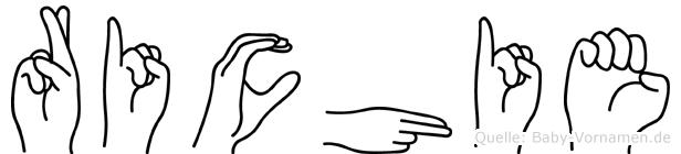 Richie in Fingersprache für Gehörlose