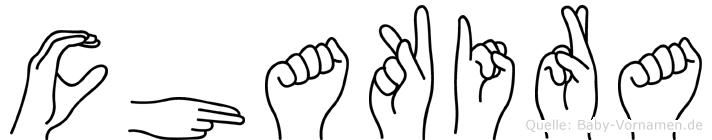 Chakira in Fingersprache für Gehörlose
