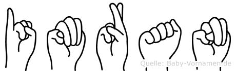 Imran in Fingersprache für Gehörlose