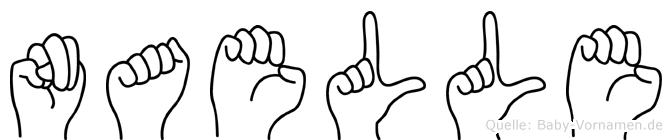 Naelle in Fingersprache für Gehörlose