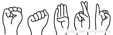 Sabri in Fingersprache für Gehörlose